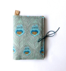 Liberty peacock passport cover